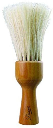 Barber Professional Neck Duster Hair Cleaner Pro Salon Wood Handle Soft Bristles