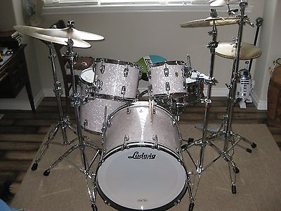 Ludwig Classic Maple MOD22 Drum set in Marine Pearl