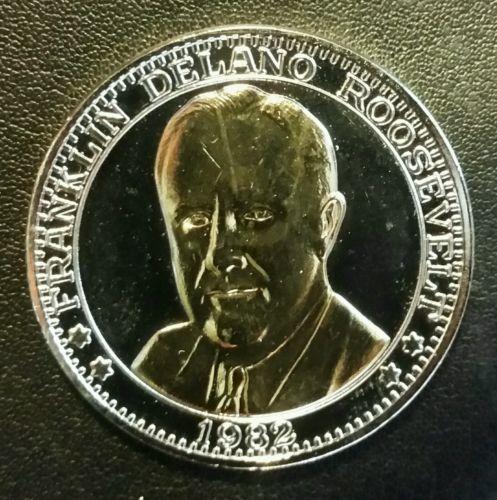 Franklin Delano Roosevelt PROOF 100th Anniversary of Birth Commemorative Coin