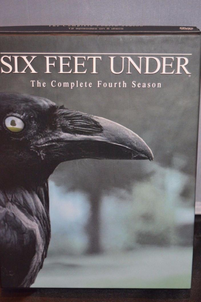 Six Feet Under  The Complete Fourth Season (DVD, 2005, 5-Disc Set)