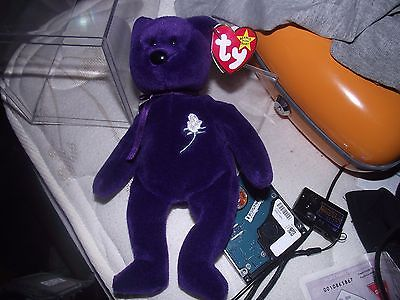 Ty Beanie Baby Princess Diana 1st Edition Ghost Edition China Extremely Rare
