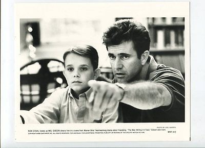MAN WITHOUT A FACE-8x10-1993-MEL GIBSON!!! FN