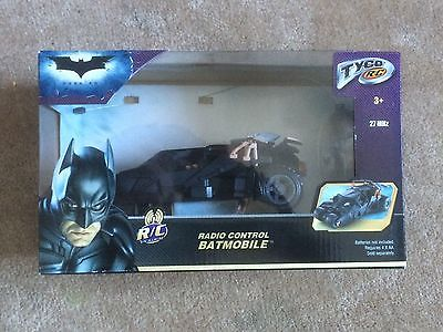Tyco Batmobile RC Car NIB Batman 2008 Remote Control
