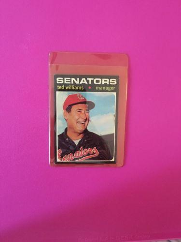 Ted Williams Senators #380