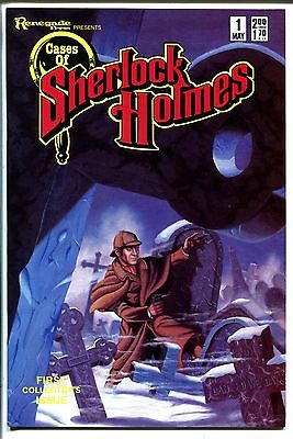 Cases of Sherlock Holmes #1 1986-Renegade Press-1st issue-Arthur Conan Doyle-VF