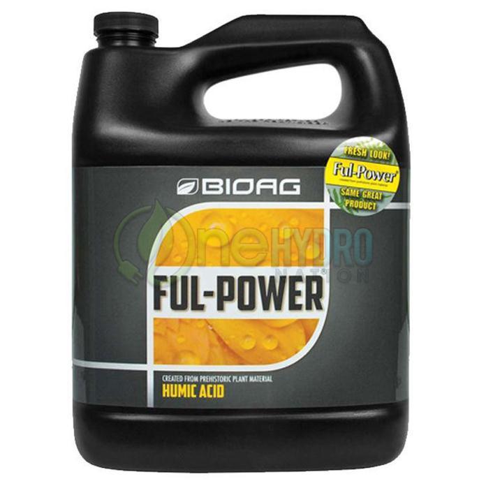 Bioag Ful-Power Ful Power Humic Acid Optimize Growth Increase Yield 1 Gallon