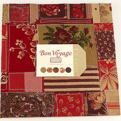BON VOYAGE Layer Cake by French General for Moda Fabrics