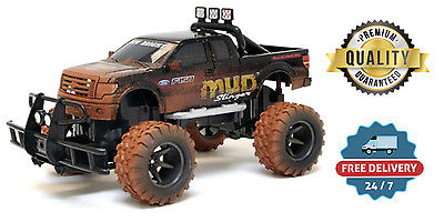 RC Monster Truck Mud Remote Control Vehicle All Terrain Fast Sport Fun Racing