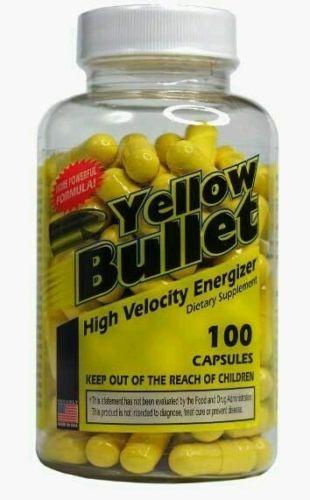 Yellow Bullet Yellow Bullet 100 caps STRONG FAT BURNER, ENERGY, EPHEDRA!!