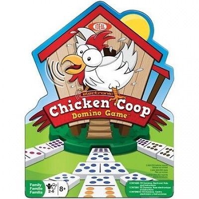 Ideal Electronic Chicken Coop Domino Game. Huge Saving