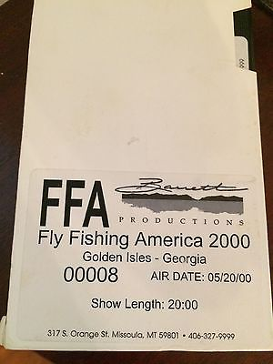 VHS FFA Fly Fishing America 2000 Golden Isles Georgia 05/20/00 20 minutes video