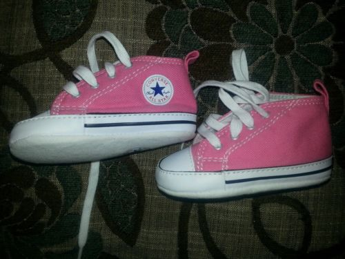 Converse Classic First Star Pink shoes  Toddlers US size 3 FREE SHIPPING