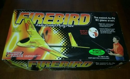 RC Air Plane Hobby Zone  Firebird Radio Control Flying Plane New Old Stock