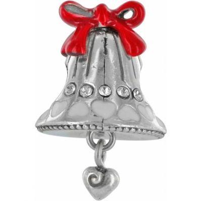 Brighton Joyful Bell ABC Stopper Charm Bead Brand New Ships FREE & FAST