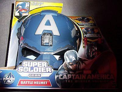 Marvel Captain America The Winter Soldier Super Soldier Gear BATTLE HELMET