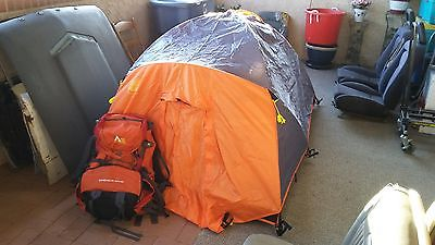 Tent & Back Pack Combo - 2 Man Tent with Handy Back Pack