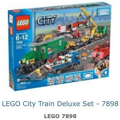 Pre Owned Lego City Train Set 7898