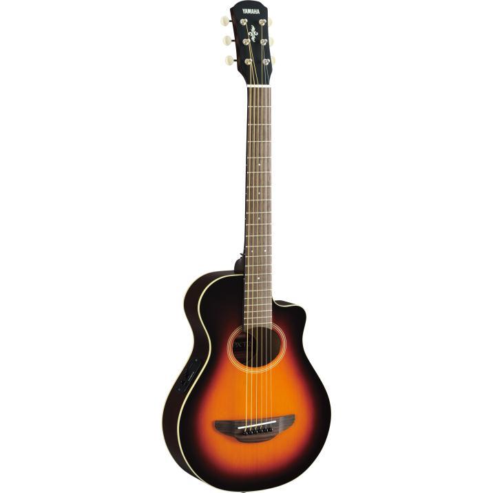 Yamaha APXT2 3/4 Thinline Acoustic-Electric Cutaway Guitar Old Violin Sunburst