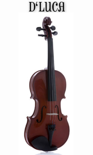 D'Luca VIOF10 Student Violin Outfit with Case and Bow 1/10 VIOF10