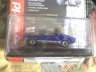 1967 FORD MUSTANG GT TOP GEAR Auto World 1:64 Diecast NEW NIP Fast Ship