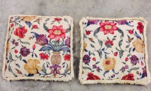 Floral Throw Pillows Two