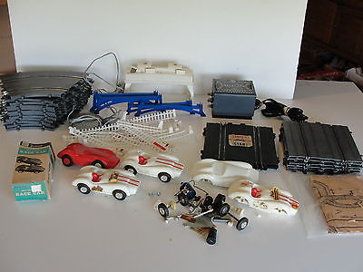 Vintage And Rare Eldon Race Slot Car Set