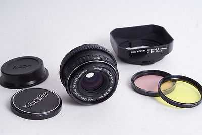 SMC Pentax-M 28mm f2.8 Wide Angle Lens