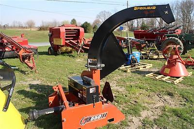 Pequea CX550 3 Point 540 PTO Wood Chipper for Compact Tractors. GOOD SHAPE!