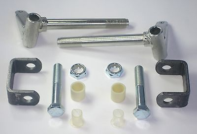 SPINDLE KIT FOR GO KART COASTER WAGON RACING BAR STOOL. JIG WELDED 3/4'' X  6''