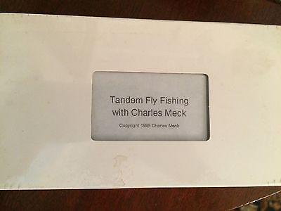 VHS Tandem Fly Fishing with Charles Meck video cassette 1996 New unopened