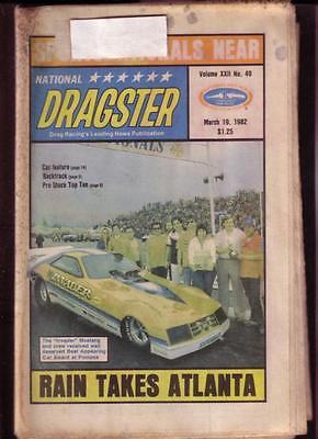 NATIONAL DRAGSTER-NHRA-3/19/82-KALITA-MULDOWNEY-HAWLEY VG