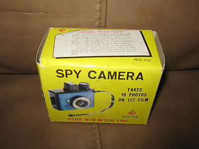 Spy Camera Fitted with Optical Lens in the Box