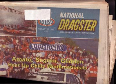 NATIONAL DRAGSTER-NHRA-02/15/85-WINTER NATL-SEGRINI- VG