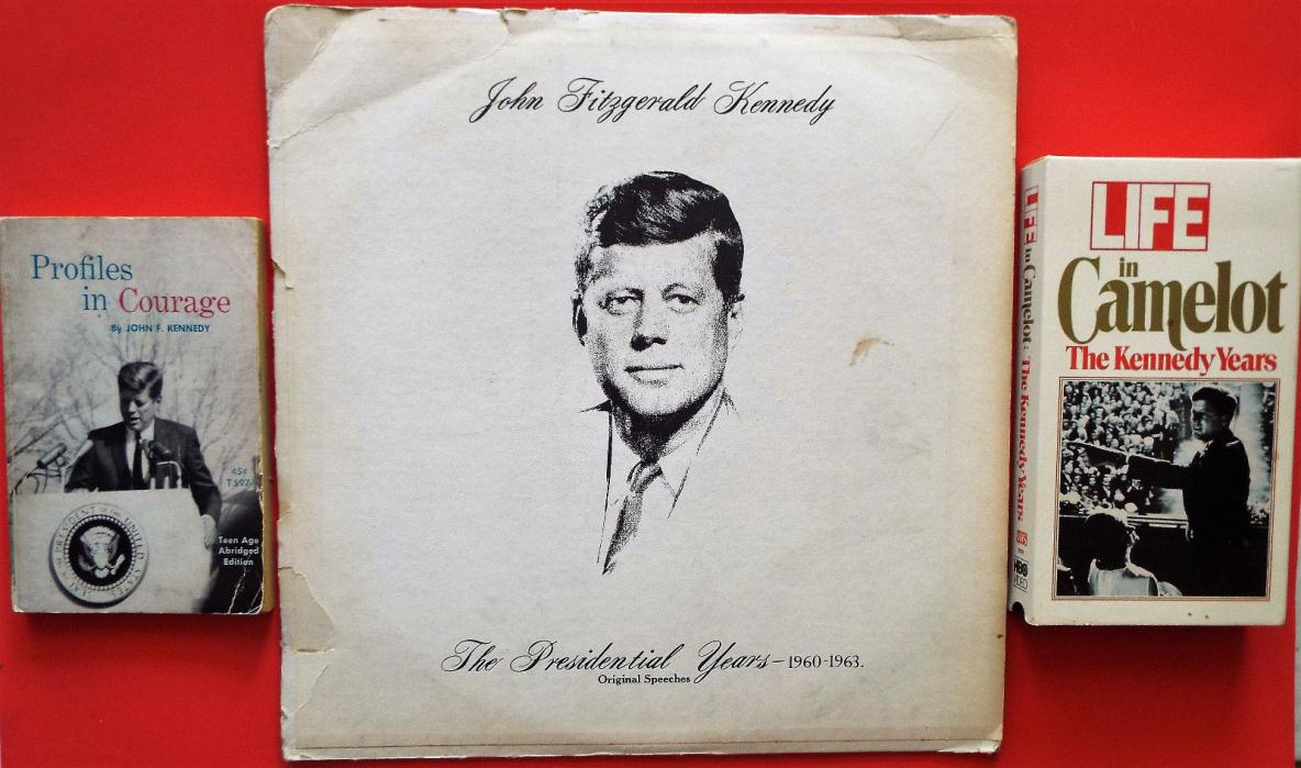 JFK  PROFILES IN COURAGE RECORD OF SPEECHES CAMELOT VCR