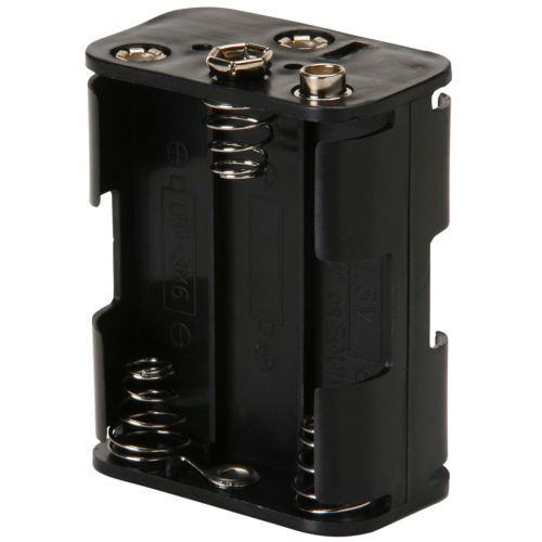Tesoro Metal Detector 6 AA Cell Battery Holder - Short - BATT-HOLD-6S