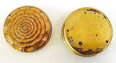Antique Brass Box