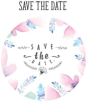 Save the Date Stickers, Wedding Stickers, Save the Date
