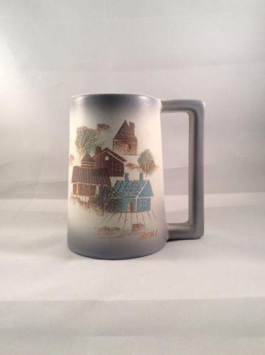 Vintage Mid-Century Modern Sascha Brastoff Hand Painted Mug
