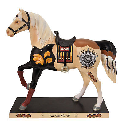 Cheryl Harris Tin Star Sheriff Trails of the Painted Ponies - Figurine Brand New