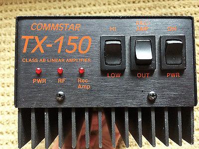 CB/11 Meter Linear Amplifier Commstar TX-150 Class AB