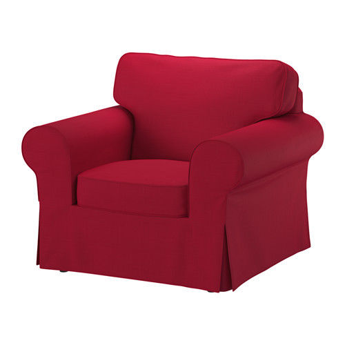 Ikea Slipcover Nordvalla Red Ektorp Chair Cover New