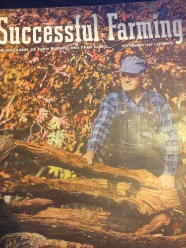 Successful Farming (November 1943, Magazine)