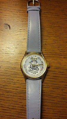 precious moments watch purple band never worn