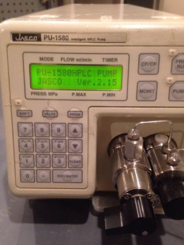 Jasco  PU-1580 HPLC  pump