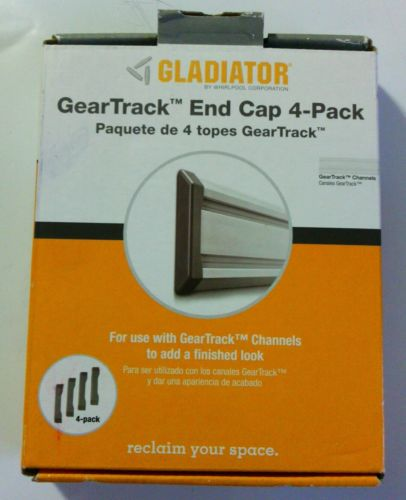 Gladiator GarageWorks GAACGE4PPM Geartrack End Caps, 4-Pack New