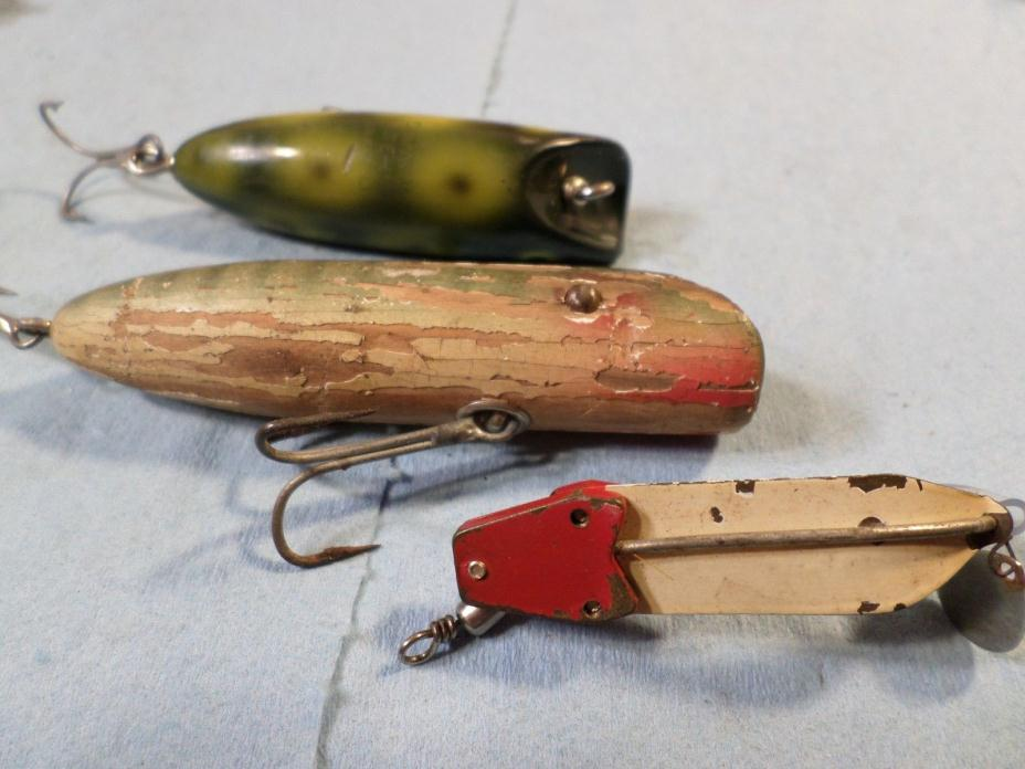 vintage South Bend, Bass Oreno, Babe Oreno, Trix Oreno, fishing lures