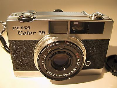 petri color 35 film camera