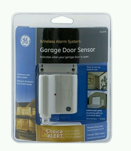GE Choice Alert  Wireless Alarm Garage Door Sensor # 45130