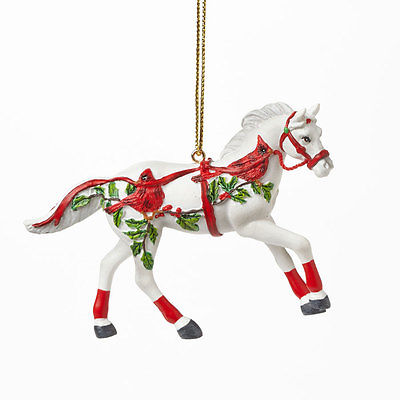 Janet Snyder Christmas Canter Trails of the Painted Ponies - Ornament Brand New
