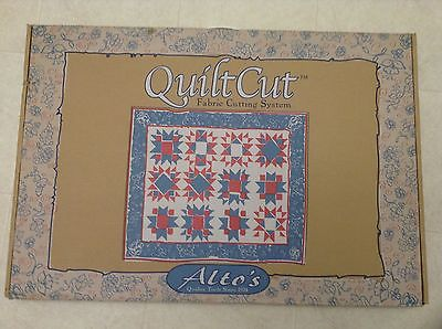 NEW Alto's Quilt Cut Fabric Cutting System Cut Fabric Paper Photographs Crafting